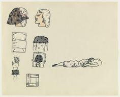 Untitled    Christina Ramberg, Untitled  (ca. 1968)