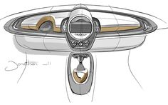 301 Best Automotive Sketch Interior Images On Pinterest In 2019