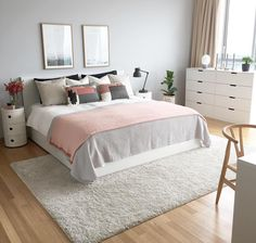 How to choose curtains for a bedroom? - Home Fashion Trend Small Room Bedroom, Home Bedroom, Room Decor Bedroom, Bedroom Ideas For Small Rooms For Adults, Bedroom Inspo, New Room, Beautiful Bedrooms, Room Interior, Room Inspiration