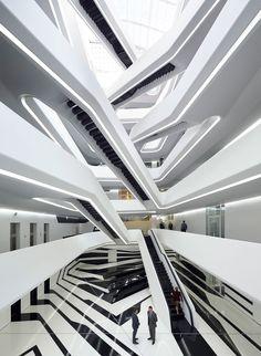 Hufton + Crow, Zaha Hadid Architects · Dominion Office Building · Divisare