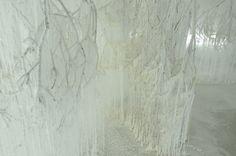 """Vertical Emptiness"" @Onishi_Yasuaki 2013 au Kyoto Art Center"