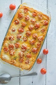 A lovely, delicious and creamy minced beef and zucchini casserole. I Want Food, Love Food, Low Carb Recipes, Cooking Recipes, Healthy Recipes, Summer Decoration, Tapas, Oven Dishes, No Cook Meals