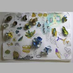 Jacqueline Ryan: Beech Nut Brooch with studies drawing Textiles Sketchbook, Artist Sketchbook, Jewelry Illustration, Illustration Art, Jewelry Art, Jewelry Design, Textiles Techniques, Jewellery Sketches, Body Adornment