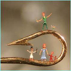 peter pan characters on a hook