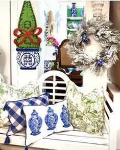 TomTom and Company Pumpkin Topiary, Chinoiserie, Creative Director, Blue And White, The Originals, Artist, Artwork, Gifts, Design