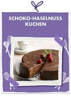 Schoko-Haselnuss Kuchen