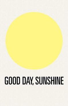 Good day sun