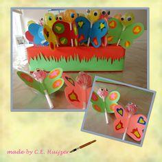 Butterfly / vlinder van lolly