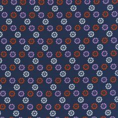 Cotton & Steel by Melody Miller, Mustang - Daisies, Navy - $11/yard