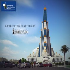 Devotees of ISKCON Bangalore are building the world's tallest temple for Krishna. Join us-