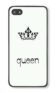 iPhone 5S Case AOFFLY® Queen Black PC Hard Case For A... http://www.amazon.com/dp/B013EHJQLE/ref=cm_sw_r_pi_dp_NQ-qxb07WDNJP