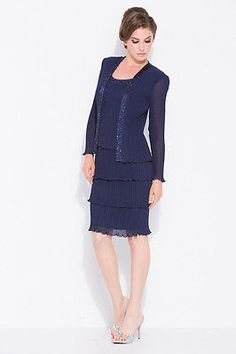Classy Plus Size Mother of the Bride Groom Jacket Short Wedding Occasion Navy
