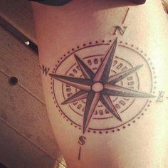 (1) compass tattoo | Tumblr