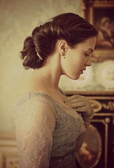 sweet sybil - Downton Abbey. So beautiful!