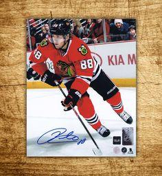 Patrick Kane Chicago Blackhawks Action Autographed 8×10 Photo