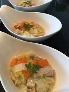 お犬様のお茶目なごはん: 豚肉と白菜の炒め物