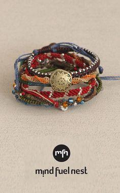 Story of the Earth Wakami Bracelet, Fair Trade Meaningful Jewelry, Bracelet Set, Fair Trade, Earth, Women, Women's, Bangle Set