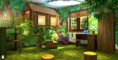 Pokoje Wyobraźni - Dżungla - zdjęcie od pokojewyobrazni - Pokój dziecka - Styl Nowoczesny - pokojewyobrazni