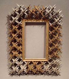Crown Of Thorns Tramp Art Frame
