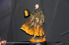 Action Figure Insider Galleries: Mythos Darth Vader statue - Brilliant colors.