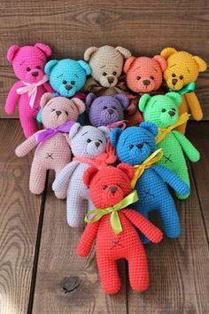 PDF Подарочные Мишка и Зайка. Бесплатный мастер-класс, схема и описание для вязания игрушки амигуруми крючком. Вяжем игрушки своими руками! FREE amigurumi pattern. #амигуруми #amigurumi #схема #описание #мк #pattern #вязание #crochet #knitting #toy #handmade #поделки #pdf #рукоделие #мишка #медвежонок #медведь #медведица #bear #teddybear #teddy #заяц #зайка #зайчик #rabbit