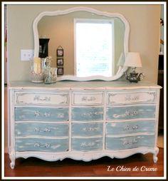 3 foot long dresser ideas - I love Long dress Deco Furniture, Refurbished Furniture, Repurposed Furniture, Furniture Projects, Furniture Making, Furniture Makeover, Painted Furniture, Bedroom Furniture, Provincial Furniture