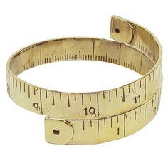 Measuring Tape Bracelet | Monserat De Lucca