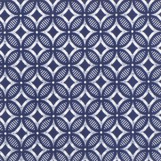 The African Fabric Shop : Shwe Shwe indigo-dyed blue print cotton fabric from South Africa Tribal Patterns, Textile Patterns, Textile Design, Fabric Design, Print Patterns, Pattern Design, African Patterns, Textile Prints, Surface Design