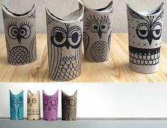 Que faire des rouleaux de papier toilette ? - what can i do with rolls of toilet paper?