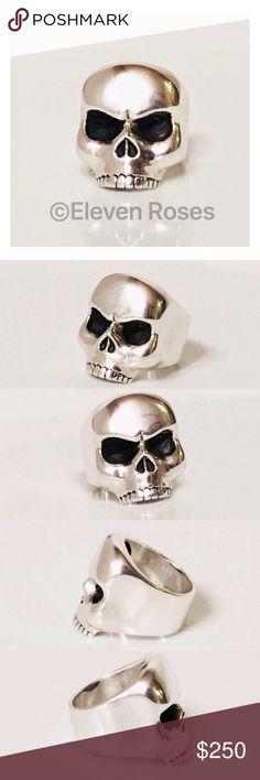 I just added this listing on Poshmark: King Baby Studio Sterling Silver Skull Ring. #shopmycloset #poshmark #fashion #shopping #style #forsale #King Baby Studio #Other