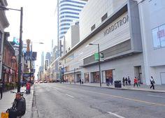 Toronto Eaton Centre 2016 Eaton Centre, Downtown Toronto, Street View