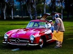Mercedes-Benz 300 SL 'Gullwing' Coupe.    Photo: Royce Rumsey
