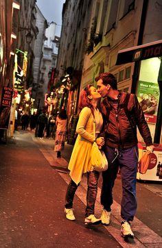 Un beso en Paris.