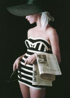christinerod:  Jean Patchett, photo by Milton Greene, New York City, 1953