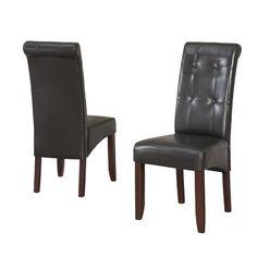 Found it at Wayfair - Cosmopolitan Parson Chair