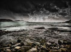 Hail Storm, Catlins, New Zealand