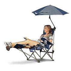 Sport-Brella Recliner Chair Midnight Blue #SportBrella