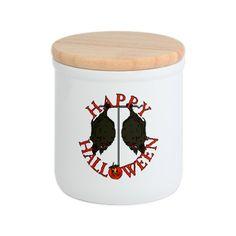 Scary Halloween Bats Cookie Jar #Halloween