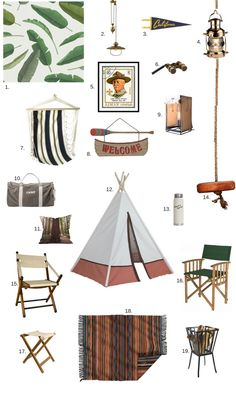 Get the Look: Troop Beverly Hills Glamping Style