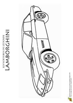 104 meilleures images du tableau coloriages de voitures coloring pages colouring pages et - Modele dessin voiture ...