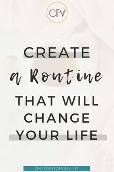 Having a daily routine can help so much - especially when you're managing chronic illness. Here are 9 Ways How Having a Routine Can Change Your Life. Create a routine to improve your life.