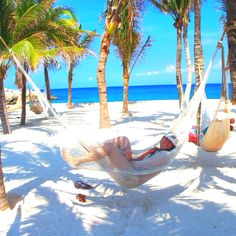 Chilling in #Cancun, #Mexico #Beach #Resort http://VIPsAccess.com/luxury-hotels-cancun.html