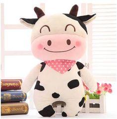 Super cute 1pc 40cm cartoon funny milk cow cattle ,bear rabbit plush hold pillow waist cushion creative stuffed toy child gift - http://manydolls.com/?product=super-cute-1pc-40cm-cartoon-funny-milk-cow-cattle-bear-rabbit-plush-hold-pillow-waist-cushion-creative-stuffed-toy-child-gift