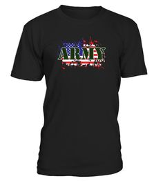 ARMY & FLAG - Women's Premium T-Shirt