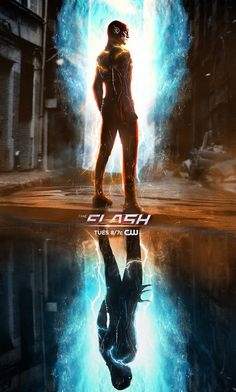 The Flash - Mid season break poster by BossLogic