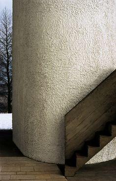 THE CHAPEL OF NOTRE DAME DU HAUT, DESIGNED BY LE CORBUSIER, PHOTOGRAPHED BY ADRIEN DIRAND