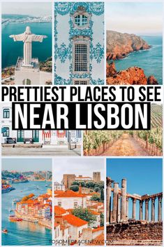17 Best Day trips from Lisbon Portugal worth exploring - tosomeplacenew - - Get the best day trips from Lisbon Portugal - from castles to beaches and natural parks, wine tours and religious shrines, including transportation guide. Portugal Travel Guide, Europe Travel Guide, Europe Destinations, Travel Packing, Portugal Trip, Backpacking Europe, Iceland Travel, Cruise Travel, Travel Backpack