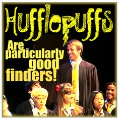 Lopez's (Draco's) face is hilarious. A Very Potter Musical: http://www.youtube.com/watch?v=wmwM_AKeMCk