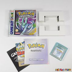 Pokemon crystal - near mint #condition -new #battery gameboy color #advance game,  View more on the LINK: 	http://www.zeppy.io/product/gb/2/112258279031/