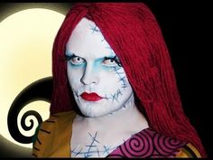 ▶ Sally the Rag Doll - The Nightmare Before Christmas - Makeup Tutorial! - YouTube